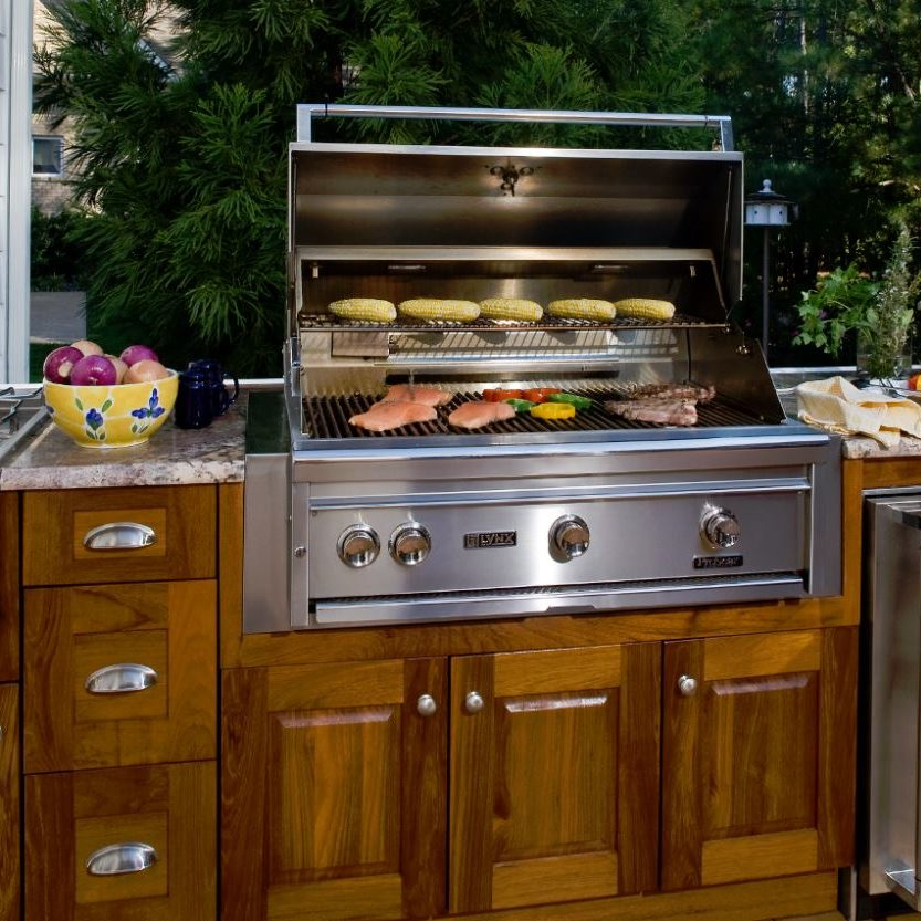 Outdoor Kitchen Design And Fabrication