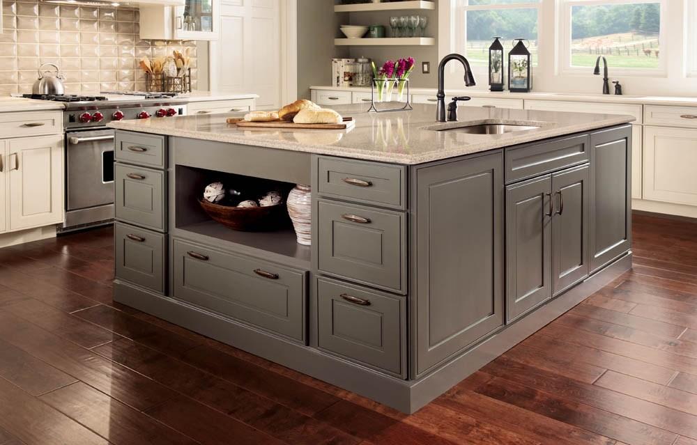 Kraftmaid Kitchen Island Cabinets, Kitchen Cabinet Sizes Kraftmaid
